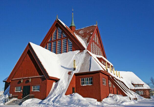 Kiruna kyrka ska flyttas år 2025. Hur det ska gå till är ännu oklart.