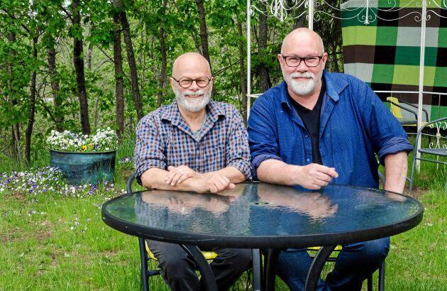 Affe och Thomas ser fram emot att få servera och prata med gästerna i sommar.