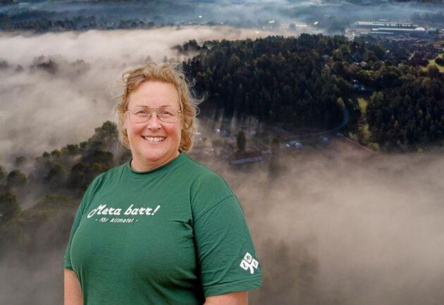 Jenny Karlsson är skogsägare och ordförande för LRF Norrbotten.