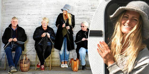 Maria i Siljansnäs säljer kläder till hela världen