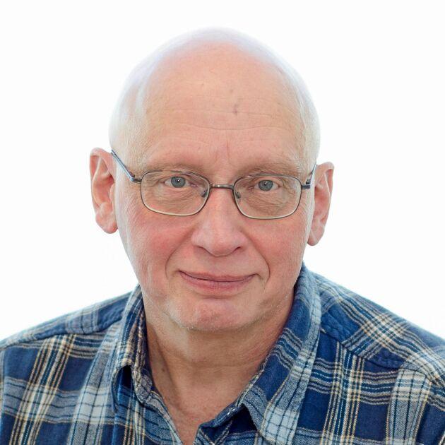 Torsten Eriksson, universitetslektor vid SLU och huvudansvarig för kraftfoderprojektet.