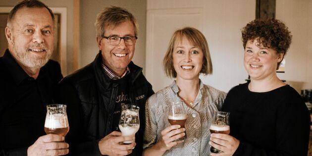 Grannarna i Ydre driver Öl inclusive - från humle till pub!