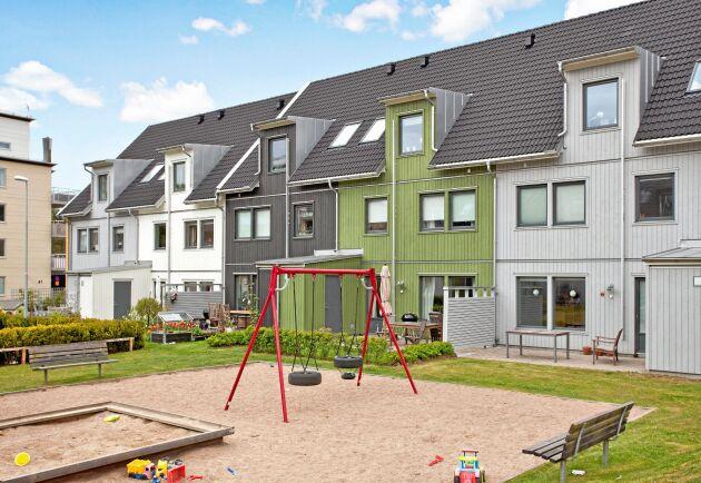 Götenehus bygger trähus i området Järnbrottsparken i närheten av Göteborg.