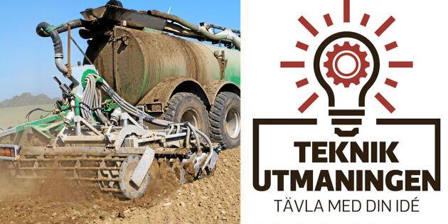 Delta i Land Lantbruks nya tävling Teknikutmaningen!