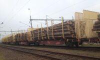 Mellanskog inleder järnvägstransporter från Malungsfors