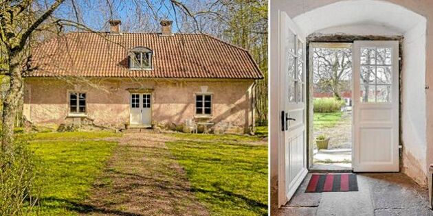 Rustikt stenhus från 1600-talet till salu för den händige drömmaren