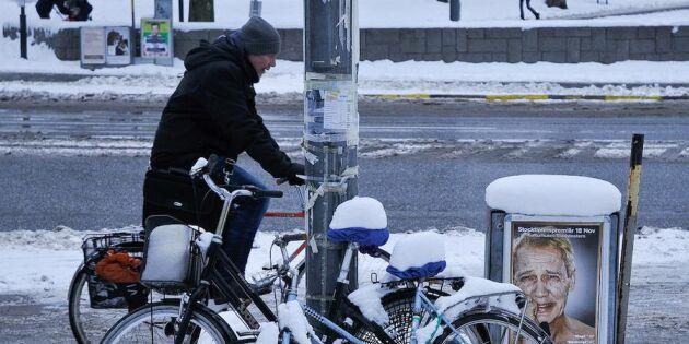 Håkan Steens krönika: Tänk om det skulle bli två grader kallare i stället!