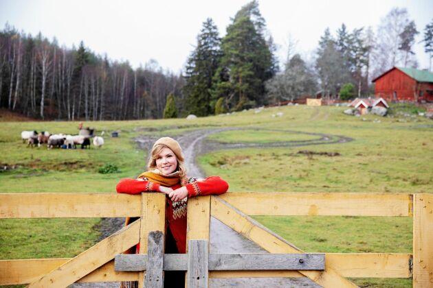 Sofia Nykvist hittade sitt drömboende i ett torp nära sörmländska Gnesta.