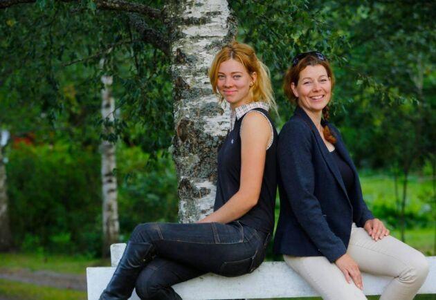 I somras beslöt Elin Larm och hennes mamma Camilla Larm att lägga ner ridskolan och även att släppa tanken på medryttare till ridskolehästarna.