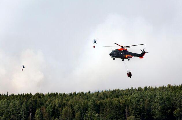 Räddningstjänsten överrumplades av brandens snabba förlopp.