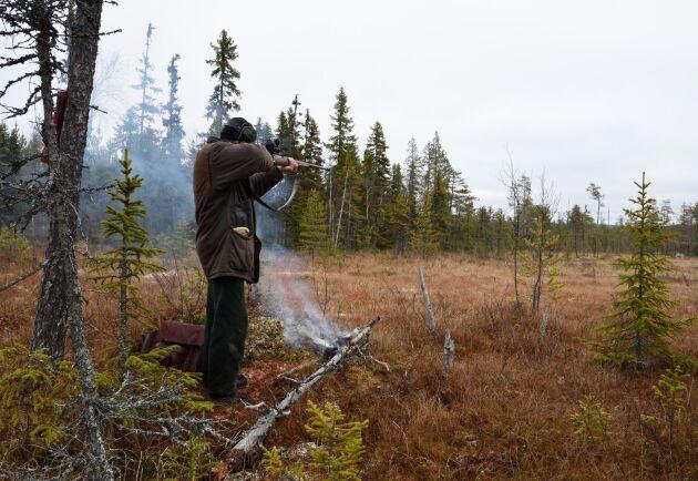 """I ett utkast från Polismyndigheten om nya föreskrifter för skjutbanor får jägare inte ha övningsskytte på den egna jaktmarken. Ska det ske övningsskytte måste en """"tillfällig skjutbana"""" först besiktas och godkännas."""