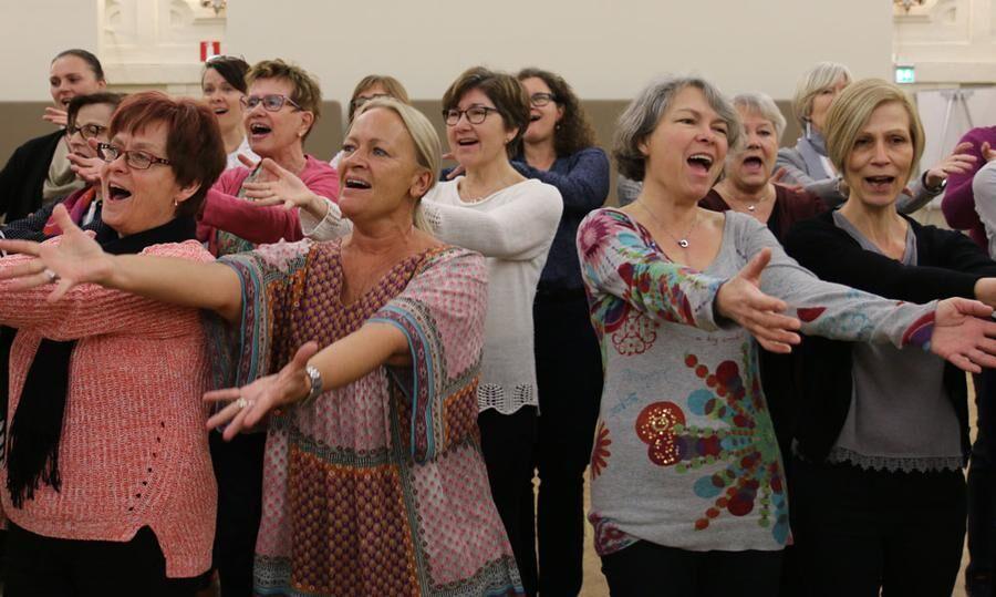 Nu är det bevisat – att sjunga tillsammans ger otroliga hälsovinster. Foto: Hasse Gänger