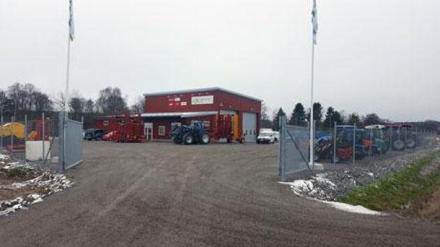 Lantmännen Maskin lägger ner flera anläggningar runt om i landet. Fotografiet är från 2016 när företaget öppnade sin nya anläggning i Grödinge.