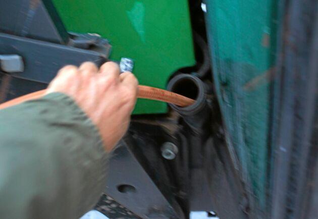De anmälda dieselstölderna ökade förra året med 4 procent.