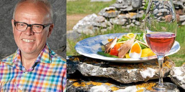 Lyxig och lättlagad smakfest: Bjud på Håkan Larssons underbara supersallad!