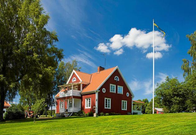 Villapriserna har stigit som allra mest i Mullsjö kommun (93 procent) under de senaste 10 åren.