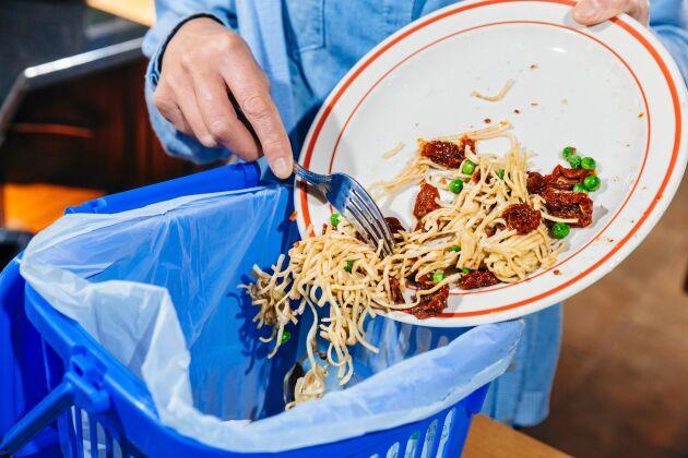 Enligt Livsmedelsverket kastar vi 19 kilo ätbar mat per person i soporna varje år.