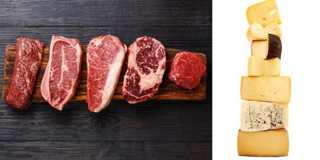 WWF: Ost inte alltid bättre än kött