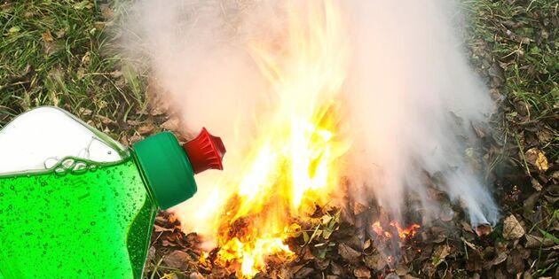 Diskmedel – ovanliga men supersmarta hjälpen vid brand!