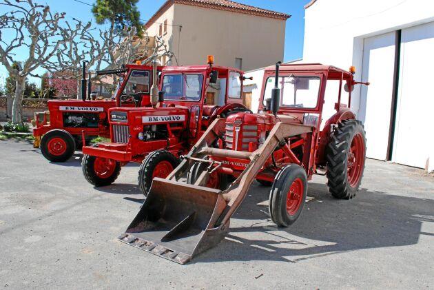 Spannmålsodlaren Jordi Vicens Solá i Agramunt har en liten samling BM-traktorer på gården. Hans släktingar använde de i lantbruket och de fick ett gott rykte.