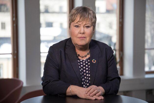 Ingrid Petersson, generaldirektör forskningsrådet Formas.