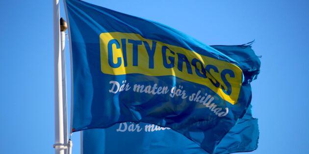 Citygross frångår policy om svenskt kött