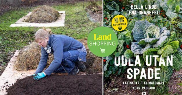 Odla utan spade är den första guiden på svenska till no dig-odling, en lättskött och klimatsmart metod som vinner allt fler anhängare.