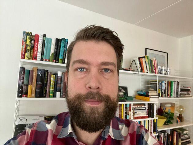 Eric Thorsson tillsammans med några likasinnade en blogg om skägg.