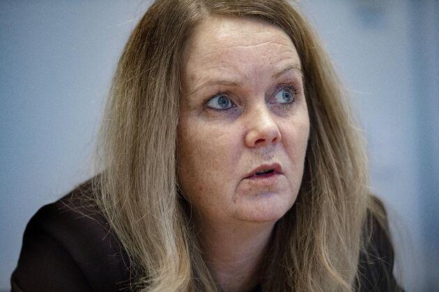 – Jordbruksverketansvarar för Distriktsveterinärernas verksamhet och jag har fullt förtroende för att de arbetar för att skapa så goda arbetsförhållandena som möjligt, säger landsbygdsminister Jennie Nilsson.