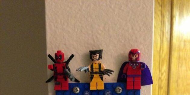 Superhjältar vaktar dina nycklar