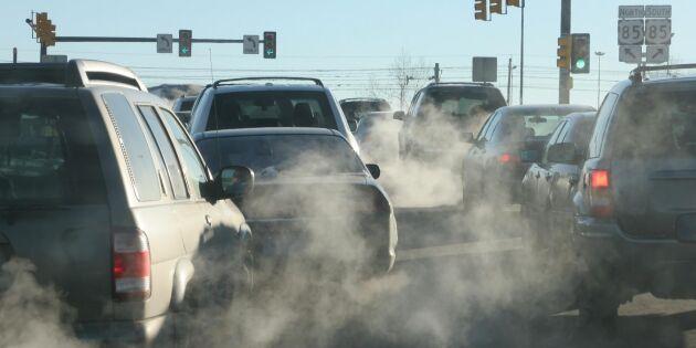 Förbud och miljözoner skrämmer inte dieselbilsförarna