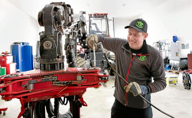 Erik Pettersson, EM Logging.