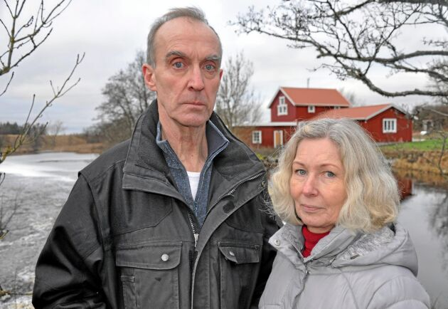 Känner stöd. Anders och Helena Bjursell har stöd från lokalsamhället.