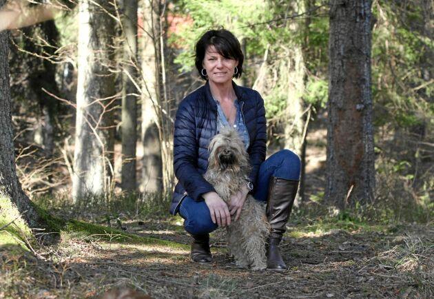 Nadja Öström är i dag kost- och sköldkörtelrådgivare. I många år kämpade hon för rätt behandling mot sin sjukdom.