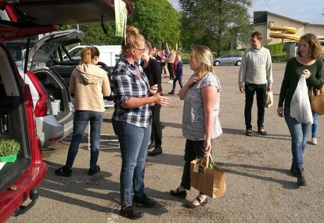 Reko-ring Skaras första möte på måndaskvällen.
