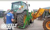 Är detta det säkraste sättet att byta traktordäck?