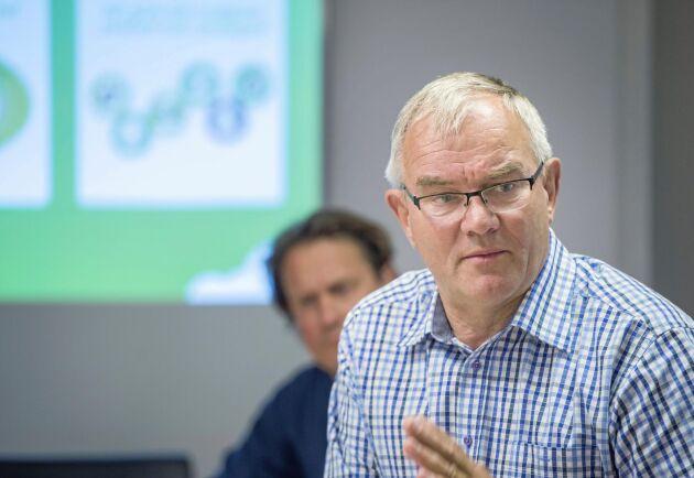 Åke Hantoft, styrelseordförande Svensk Mjölk.