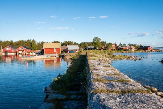 Hölick utanför Hudiksvall bjuder på vacker natur.