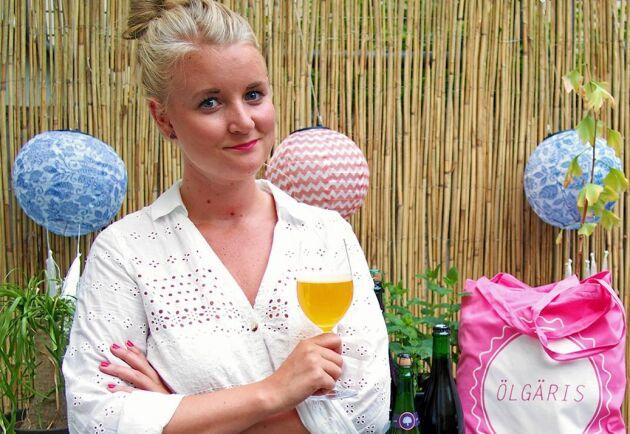 Josefine Törnqvist är grundare till Ölgäris som nu har över 6000 medlemmar.
