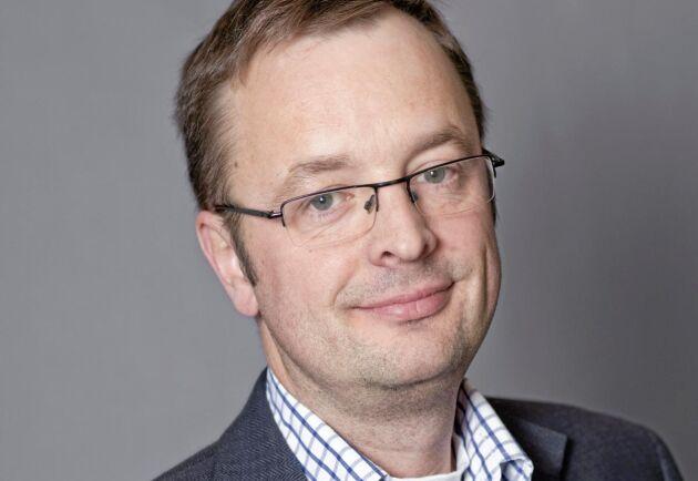 """""""Jag ser inga hinder som skulle kunna stoppa solcellsvågen"""", säger Niklas Bergman, LRF:s expert på resurseffektivitet."""