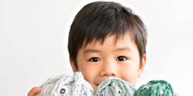 Äntligen! 11 roliga saker du kan göra av barnens fingervirkning