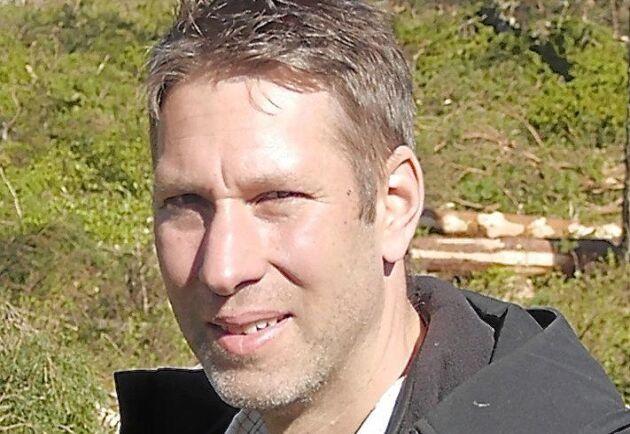 Joakim Rosén är skogsinköpare och vd på Frödinge Skog AB.
