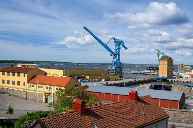 Örlogsstaden Karlskrona i Blekinge.