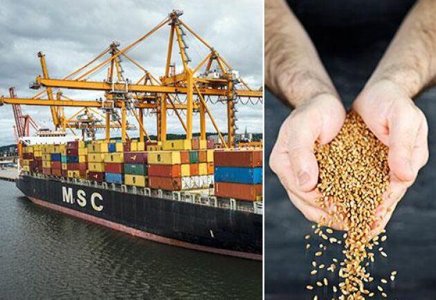 2018 ökade importvärdet av jordbruksvaror och livsmedel med sju miljarder till 109 miljarder kronor, en ökning med 7 procent, jämfört med 2017. Importvärdet av spannmål växte med hela 19 procent.