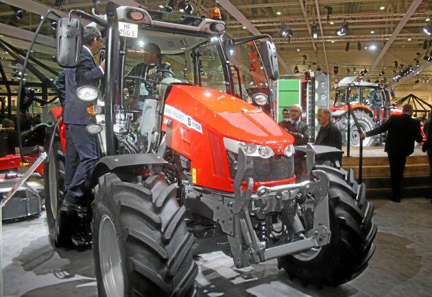 Med sina 95 hästkrafter och kompakta utformning tror företaget att MF 5709 S kommer locka många skandinaviska köpare.