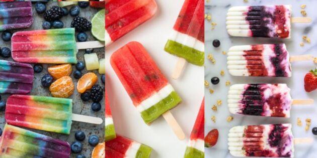 5 coola och nyttiga glassar – som du kan göra själv