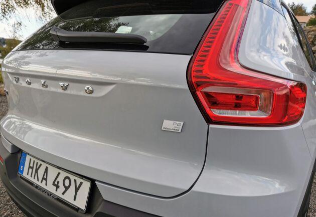 Volvos nya elsuv är en välbyggd och bra liten suv.
