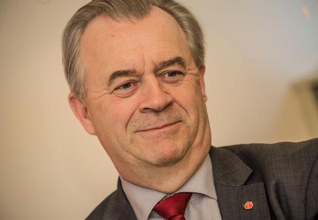 Landsbygdsminister Sven-Erik Bucht är nöjd med förbudet.