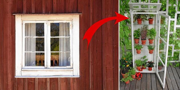 10 saker du kan göra med gamla fönster