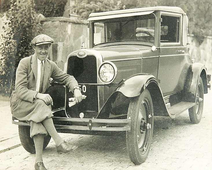 Fridolf körde helst amerikanska bilar.